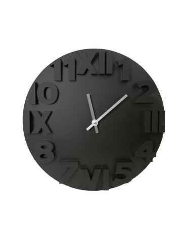PLATINET CLOCK MODERN WALL CLOCK/BLACK