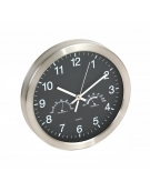 PLATINET CLOCK WINTER WALL CLOCK TEMP/HYGRO BLACK