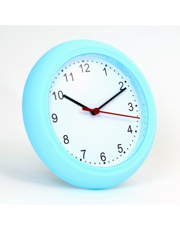 PLATINET CLOCK WALL CLOCK SUNDAY/ BLUE