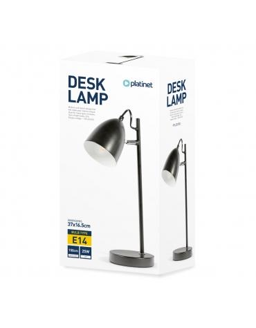 PLATINET DESK LAMP 25W E27 METAL 1,5M CABLE BLACK
