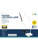PLATINET DESK LAMP 3,5W FLEXIBLE ΑΣΠΡΟ