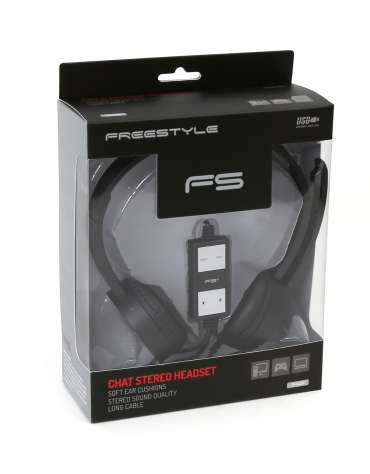 FREESTYLE HEADSET FH-5400 HI-FI + MIC USB