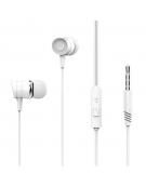 XO Wired earphones EP20 jack 3,5mm white