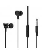 XO Wired earphones EP20 jack 3,5mm black