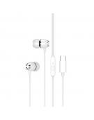 XO Wired earphones EP25 type-C white