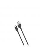 XO cable NB156 USB - USB-C 1,0 m 2,4A black