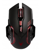 VARR GAMING MOUSE EXA2 6D LED 800-1200-1600-2600 DPI BLACK