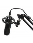 VARR GAMING MICROPHONE TUBE USB BLACK