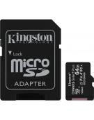 Kingston Canvas Select Plus microSDXC 64GB U1 V10 A1 with Adapter