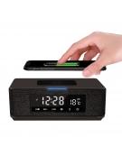 PLATINET SPEAKER DAILY PMGQ15B BLUETOOTH, QI, FM, CLOCK WHITE
