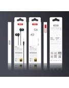 XO Wired earphones EP26 jack 3,5mm black