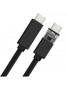 PLATINET USB 3.1 TYPE-C TO TYPE-C CABLE 5A 1M BLACK