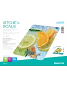 OMEGA KITCHEN SCALE LEOMONS LCD DISPLAY 5 KG CAPACITY