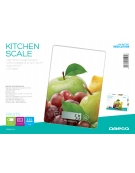 OMEGA KITCHEN SCALE FRUITS LCD DISPLAY 5 KG CAPACITY