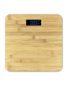 OMEGA BODY SCALE BAMBOO LCD DISPLAY 180 KG CAPACITY
