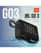GO3 ΜΑΥΡΟ , Portable Bluetooth Speaker, IP67-Waterproof