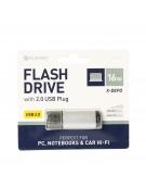 PLATINET PENDRIVE USB 2.0 X-Depo 16GB SILVER [42175]