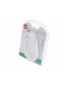 MOUSE OMEGA OM-420B OPTICAL 1200dpi WHITE BLISTER [43619]