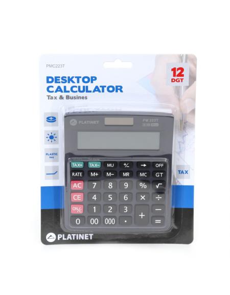 PLATINET CALCULATOR PM223T 12 ΨΗΦΙΩΝ TAX 40468