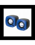OMEGA ΗΧΕΙΑ  2.0 OG-15 6W BLUE USB [43041]