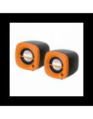 OMEGA ΗΧΕΙΑ  2.0 OG-15 6W ORANGE USB [43043]