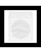 ΧΑΡΤΙΝΑ ΛΕΥΚΑ ΦΑΚΕΛΑΚΙΑ CD - DVD ΜΕ ΠΑΡΑΘΥΡΟ 100 ΤΕΜΑΧΙΑ