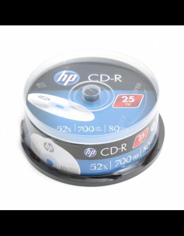 HP CD-R 700MB 52X CAKE 25 ΤΕΜΑΧΙΑ