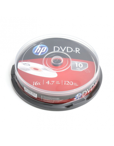 HP DVD-R 4.7GB 16X CAKE 10 ΤΕΜΑΧΙΑ