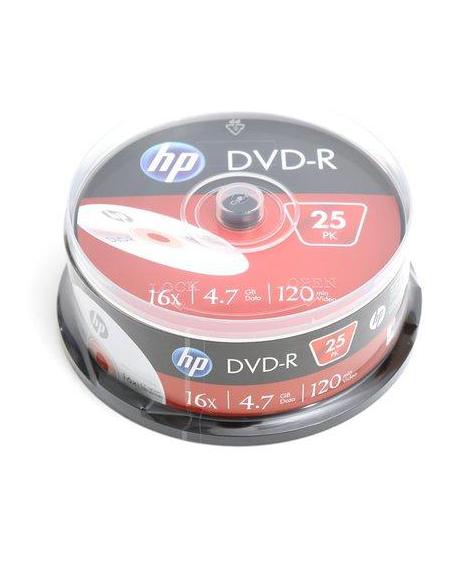 HP DVD-R 4.7GB 16X CAKE 25 ΤΕΜΑΧΙΑ