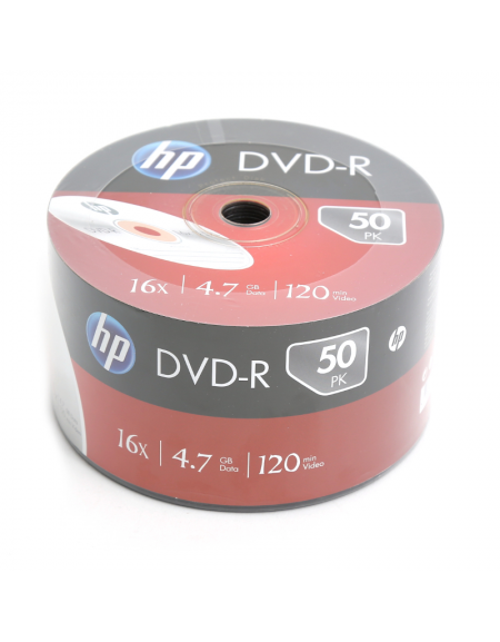 HP DVD-R 4.7GB 16X SP 50 ΤΕΜΑΧΙΑ