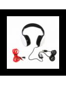 FREESTYLE HEADSET FH-4920 ΜΙΚΡΟΦΩΝΟ ΛΕΥΚΟ mini jack + USB [42688]