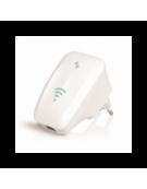 OMEGA WI-FI REPEATER 300MBPS 802.11.B/G/N 2*2dBi SMART O25 ΛΕΥΚΟ  [42300]