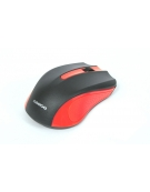 MOUSE OMEGA OM-05R OPTICAL 800-1200-1600DPI RED BLISTER [41790]