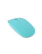 MOUSE OMEGA OM-414 OPTICAL1000DPI RUBBER BLUE [42827]
