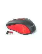 MOUSE OMEGA OM-419 ΑΣΥΡΜΑΤΟ 2,4GHz 1000DPI RED NANO USB RECEIVER [41795]