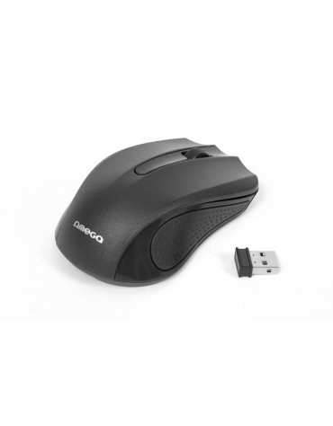 MOUSE OMEGA OM-419 ΑΣΥΡΜΑΤΟ 2,4GHz 1000DPI BLACK NANO USB RECEIVER [41791]