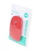 MOUSE OMEGA OM-414 OPTICAL1000DPI RUBBER RED