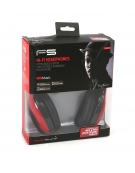 FREESTYLE HEADSET FH-4920 ΜΙΚΡΟΦΩΝΟ ΚΟΚΚΙΝΟ mini jack + USB [42687]