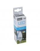 OMEGA LED BULB ECO 2800K E14 4W CANDLE