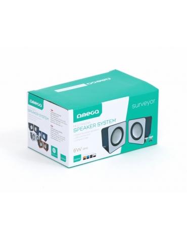 OMEGA ΗΧΕΙΑ  2.0 OG-01 SURVEYOR 6W WHITE USB [41586]