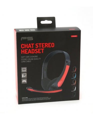 FREESTYLE HI-FI STEREO HEADSET + ΜΙΚΡΟΦΩΝΟ FH4088O ΜΠΛΕ [43086]
