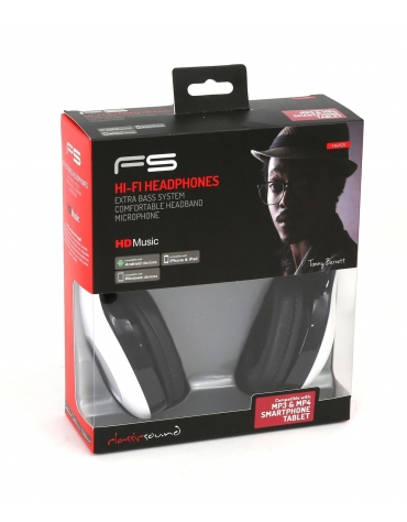 FREESTYLE HEADSET FH-4920 ΜΙΚΡΟΦΩΝΟ ΛΕΥΚΟ mini jack + USB [42688]