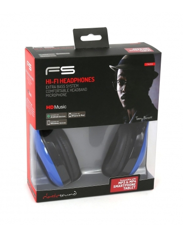 FREESTYLE HEADSET FH-4920 ΜΙΚΡΟΦΩΝΟ ΜΠΛΕ mini jack + USB [42686]