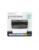 PLATINET POWER BANK ΔΕΡΜΑΤΙΝΟ 5200mAh  ΜΑΥΡΟ + καλώδιο microUSB [43408]