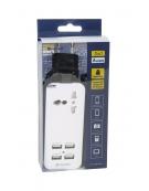 ΦΟΡΤΙΣΤΗΣ ΤΑΞΙΔΙΟΥ PLATINET 4,2A ΜΕ 4 ΘΥΡΕΣ USB