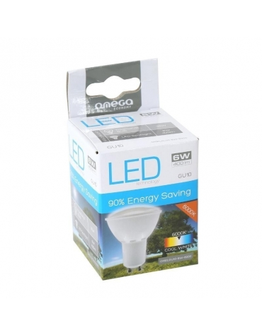 OMEGA LED SPOTLIGHT 6000K GU10 4W 240LM 43032