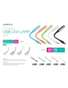 OMEGA USB LED LAMP BLACK