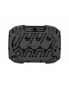 OMEGA LAPTOP COOLER PAD (ARCTIC) 2 FANS 15MM 2 USB PORTS [42152]