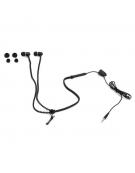 FREESTYLE ZIP EARPHONES + MIC FH2111 BLACK [41798]
