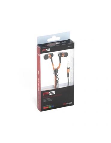 FREESTYLE ZIP EARPHONES + MIC FH2111 ORANGE [41801]